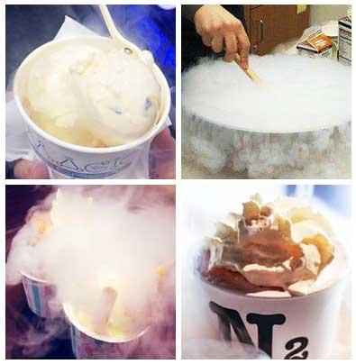 氮气冰淇淋(冒烟冰激凌)